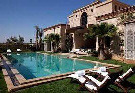 villa de luxe a marrakech